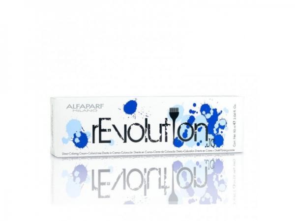 Crema de colorare directa Alfaparf rEVOLUTION JC TRUE BLUE ,90 ml 0