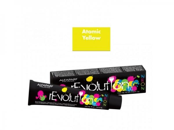 Crema de colorare directa Alfaparf rEVOLUTION JC NEON ATOMIC YELLOW ,90 ml 0