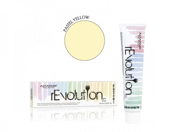 Crema de colorare directa Alfaparf rEVOLUTION PASTEL LYELLOW ,90 ml 0