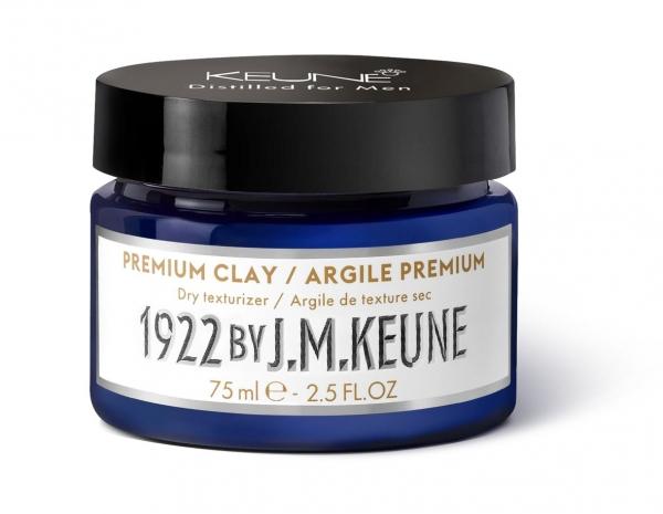 Pomada barbati cu textura de argila Keune 1922 Premium Clay, 75 ml [0]