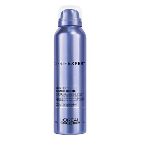 Spray iluminator pentru fixarea culorii pentru par blond L`Oreal Professionnel Serie Expert Blondifier Blonde Bestie, 150 ml 0