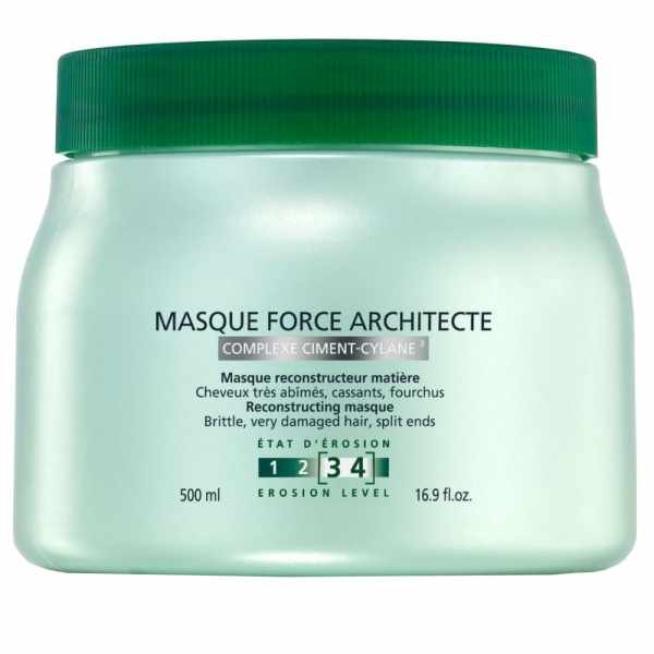 Masca pentru par degradat Kerastase Resistance Masque Force Architecte, 500 ml 0