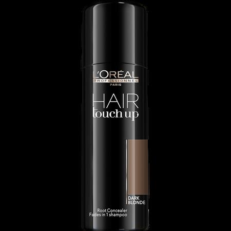 Spray corector pentru acoperirea firelor albe  L`Oreal Professionnel Hair Touch-Up Dark Blonde, Blond Inchis, 75 ml [0]