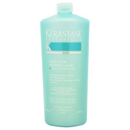 Sampon pentr scalp sensibil si par uscat Kerastase Specifique Dermocalm Bain Vital, 1000 ml 0