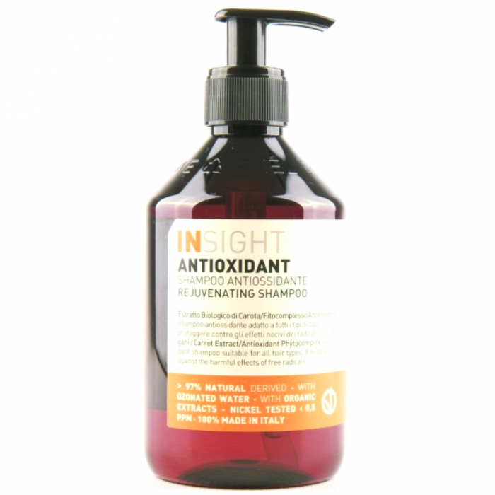 Sampon antioxidant cu extract de morcovi Insight Rejuvenating, 400 ml [0]