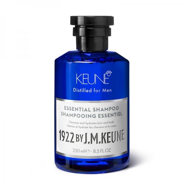 Sampon barbati  2 in 1 pentru toate tipurile de par Keune 1922 Essential Shampoo, 250 ml 0