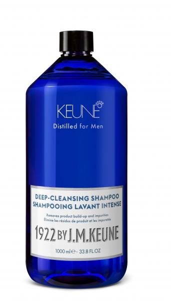Sampon barbati profund degresant Keune 1922 Deep-Cleansing Shampoo, 1000 ml [0]