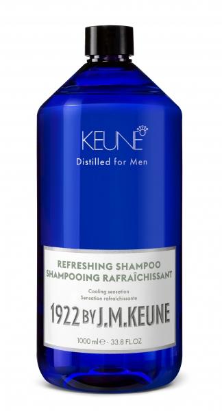 Sampon barbati revigorant Keune 1922 Refreshing Shampoo, 1000 ml 0
