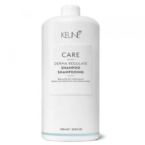 Sampon cu Bio-Sulfura pentru par gras si scalp Keune Care Derma Regulate, 1000 ml 0