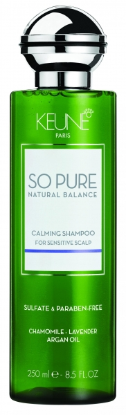 Sampon cu efect calmant pentru scalp sensibil Keune So Pure Calming, 250ml 0