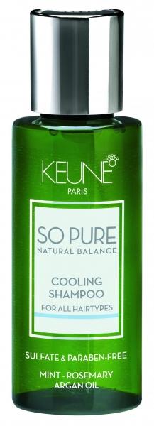 Sampon cu efect racoritor Keune So Pure Cooling, 50ml 0