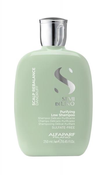 Sampon de purificare anti-matreata Alfaparf Semi di Lino Scalp Rebalancing Purifying , 250 ml [0]