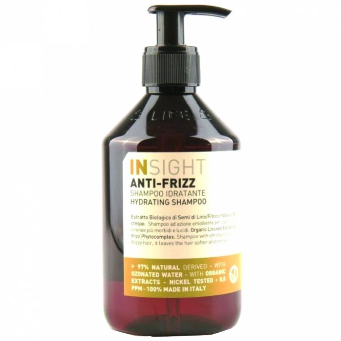 Sampon hidratant cu extract de seminte de in Insight Hydrating, 400 ml [0]