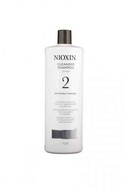 Sampon impotriva caderii parului Nioxin System 2 Cleanser, 1000 ml 0