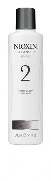 Sampon impotriva caderii parului Nioxin System 2 Cleanser, 300 ml 1