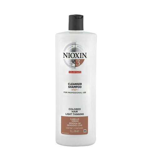 Sampon impotriva caderii parului Nioxin System 3 Cleanser, 1000 ml 0