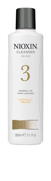 Sampon impotriva caderii parului Nioxin System 3 Cleanser, 300 ml 1