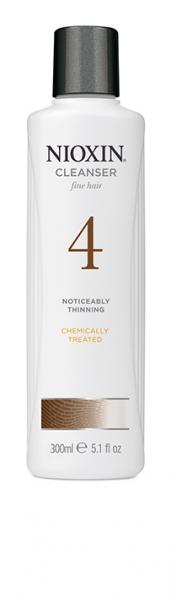 Sampon impotriva caderii parului Nioxin System 4 Cleanser, 300 ml 0
