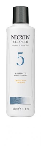 Sampon impotriva caderii parului Nioxin System 5 Cleanser, 300 ml 1
