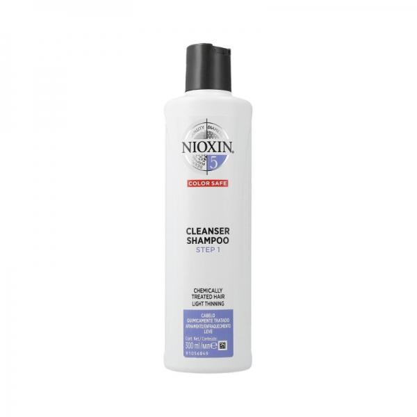 Sampon impotriva caderii parului Nioxin System 5 Cleanser, 300 ml 0