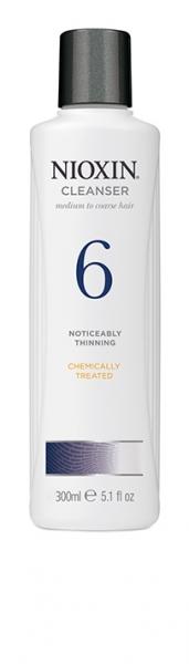 Sampon impotriva caderii parului Nioxin System 6 Cleanser, 300 ml 0