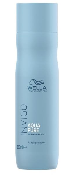 Sampon impotriva excesului de sebum Wella Professionals INVIGO Balance Aqua Pure, 250 ml  0