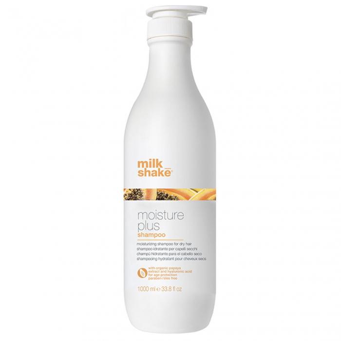 Sampon intens hidratant pentru par uscat Milk Shake Moisture Plus, 1000 ml [0]