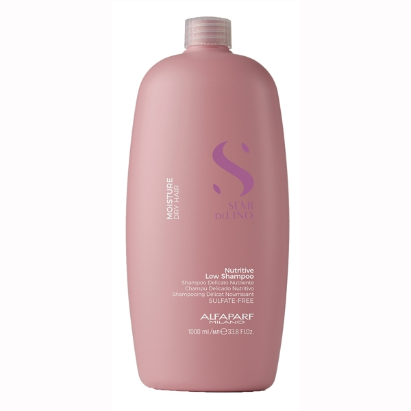 Sampon pentru hidratare fara sulfati Alfaparf Semi di Lino Moisture Nutritive Shampoo, 1000 ml 0