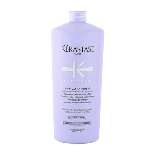 Sampon pentru neutralizarea tonurilor de galben Kerastase Blond Absolu Bain Ultra-Violet, 1000 ml [0]