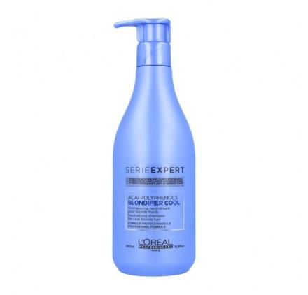 Sampon pentru par blond rece L`Oreal Professionnel Serie Expert Blondifier, 500 ml [0]