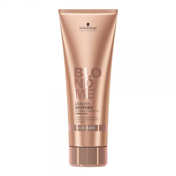 Sampon pentru par blond Schwarzkopf Blonde Me Restore Bonding Shampoo, 250 ml 0