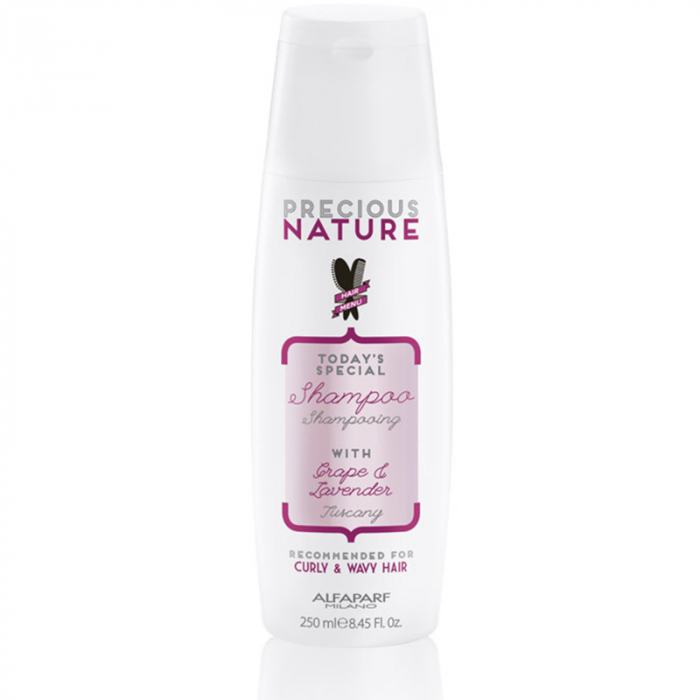 Sampon pentru par cret/ondulat Alfaparf Precious Nature Curly & Wavy Hair Shampoo, 250 ml 0