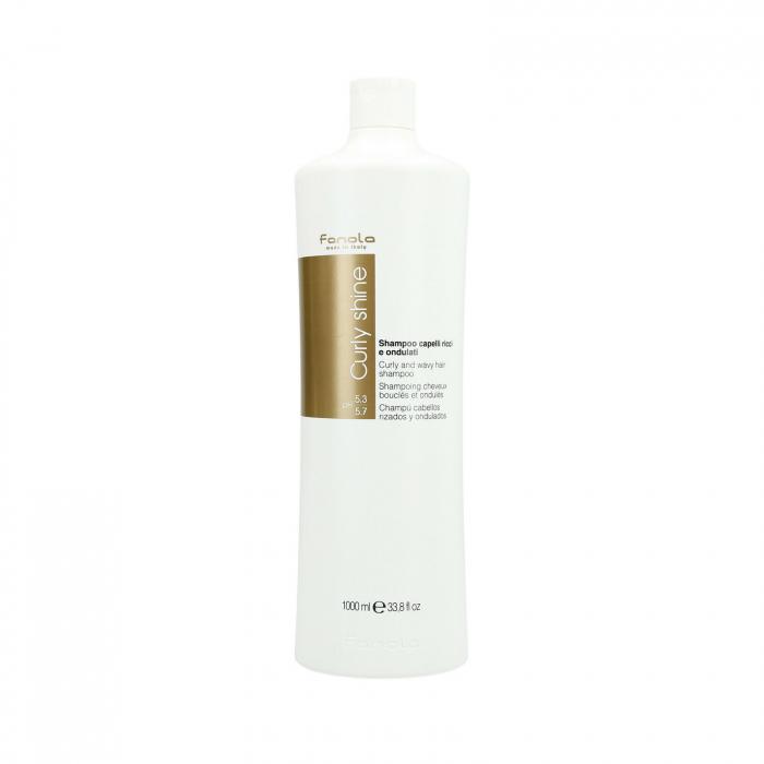 Sampon pentru par cret sau ondulat Fanola Curly Shine, 1000 ml 0