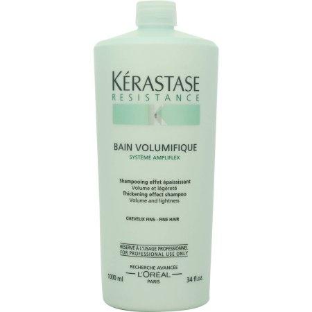 Sampon pentru par cu fir subtire/fara volum Kerastase Resistence Bain Volumifique, 1000 ml 0