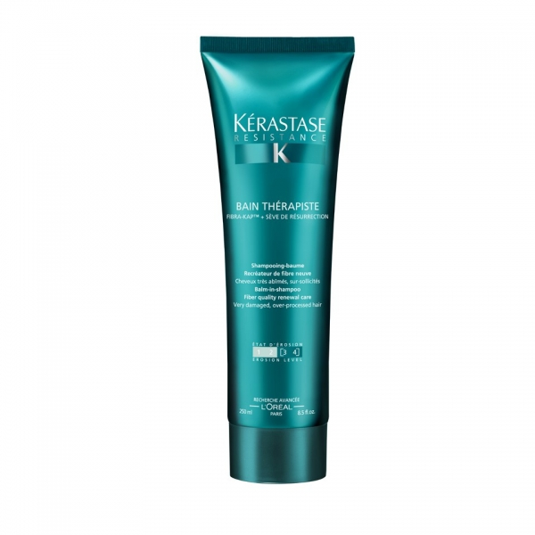Sampon pentru par degradat Kerastase Resistence Bain Therapiste, 450 ml 0