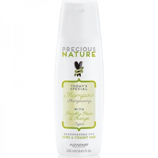 Sampon pentru par drept Alfaparf Precious Nature Long & Straight Hair Shampoo, 250 ml 0