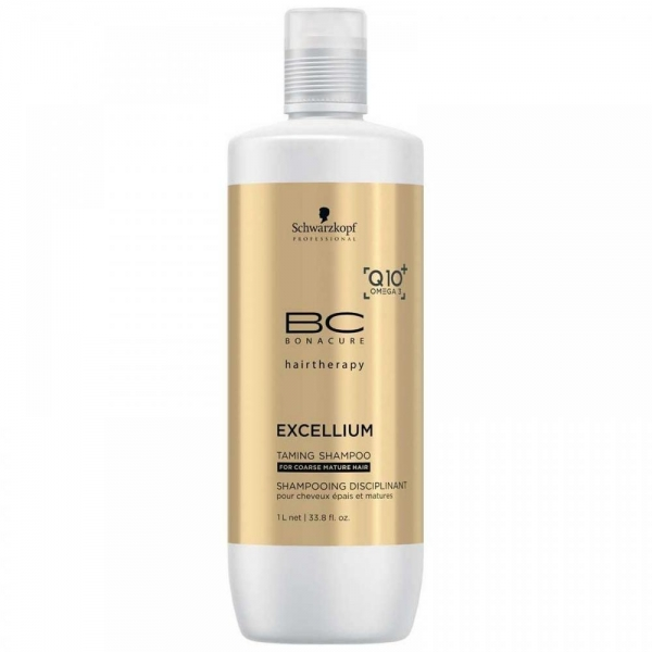 Sampon pentru par matur aspru Schwarzkopf Bonacure Taming Shampoo, 1000 ml 1