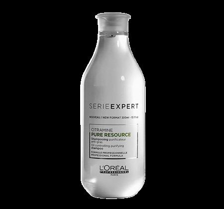 Sampon pentru par normal si gras L`Oreal Professionnel Serie Expert Pure Resource, 300 ml [0]