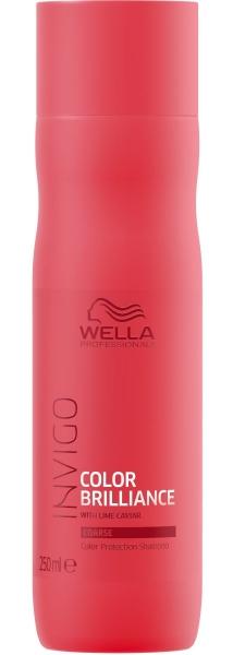 Sampon pentru par vopsit cu fir gros Wella Professionals Invigo Brilliance, 250 ml 0