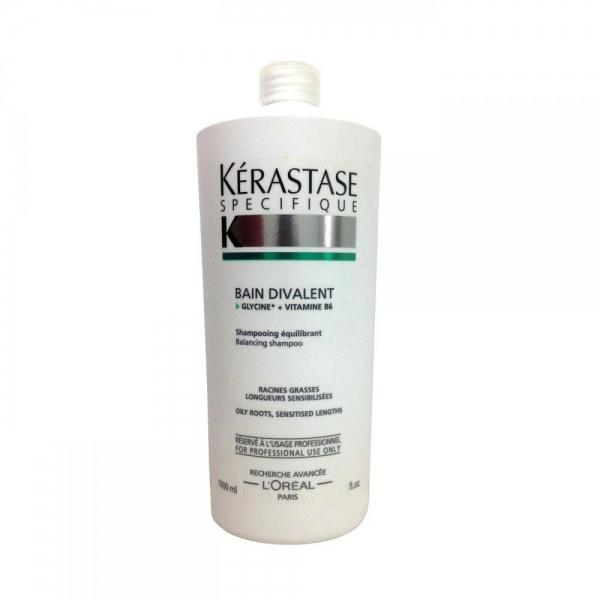 Sampon pentru scalp gras Kerastase Specifique Bain Divalent, 1000 ml 0