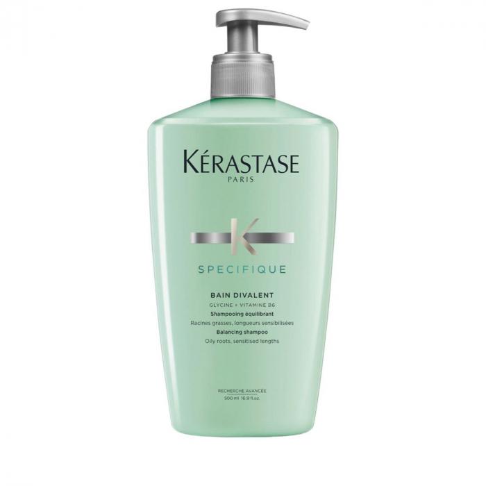 Sampon pentru scalp gras Kerastase Specifique Bain Divalent, 500 ml [0]