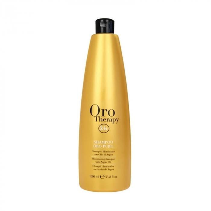 Sampon pentru stralucire Fanola Oro Therapy, 1000 ml [0]