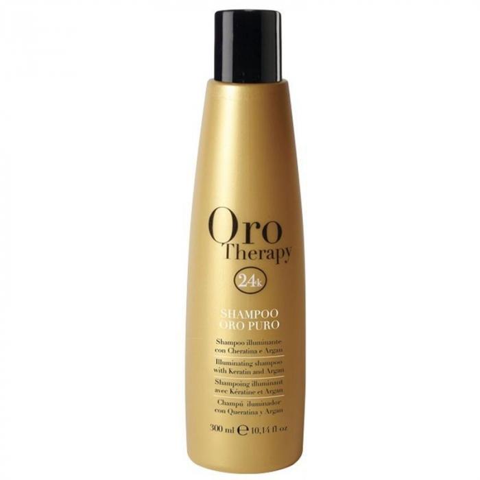 Sampon pentru stralucire Fanola Oro Therapy, 300 ml [0]