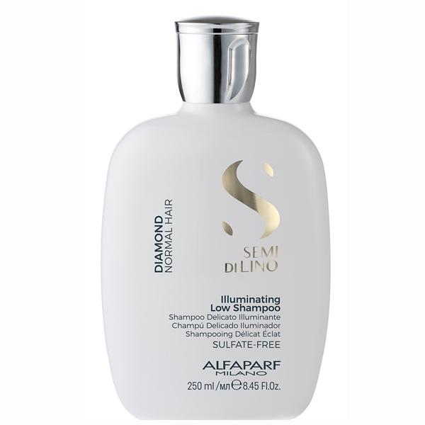 Sampon pentru stralucire fara sulfati Alfaparf Semi di Lino Diamond Illuminating Shampoo, 250 ml 0