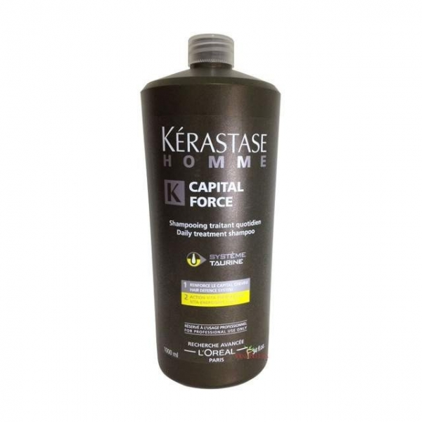 Sampon revitalizant Kerastase Homme Bain Capital Force Vita-Energetique, 1000 ml 0