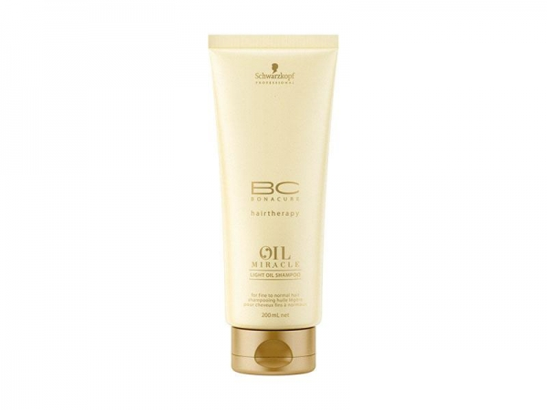 Sampon Schwarzkopf Light Oil Bonacure 200ml 1