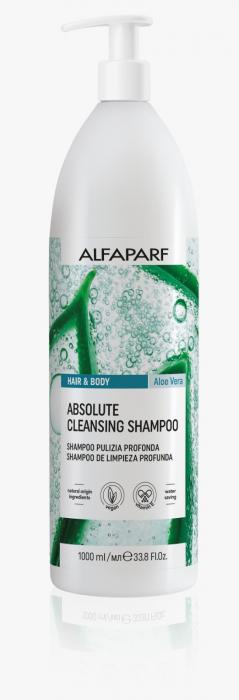 Sampon si gel de dus purificator cu aloe vera Alfaparf APG Absolute Cleansing, 1000 ml [0]