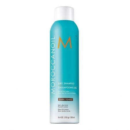 Sampon uscat pentru par ton inchis Moroccanoil Dry Shampoo Dark, 205 ml 0