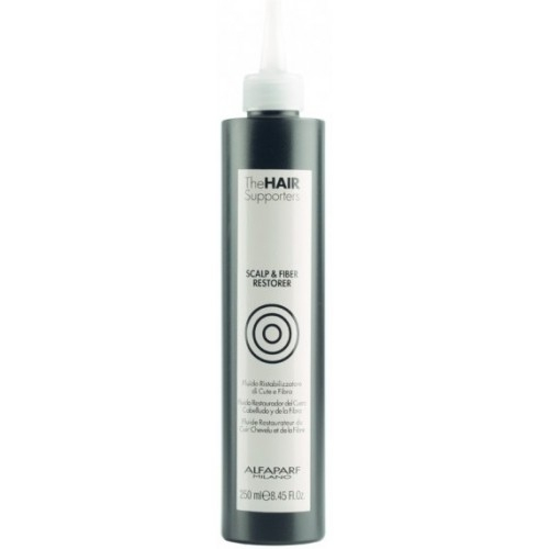 Tratament de restaurare pentru par si scalp fara parabeni Alfaparf THE HAIR SUPPORTERS SCALP&FIBER RESTORER , 250ml 0