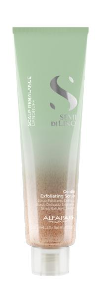 Scrub delicat exfoliant Alfaparf Semi di Lino Scalp Rebalancing, 150 ml 0